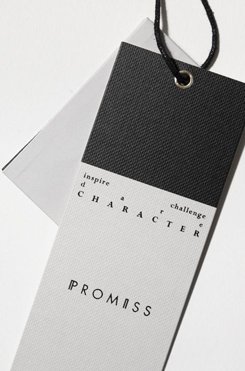 promiss hangtag