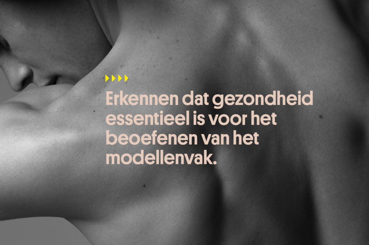 The models health pledge